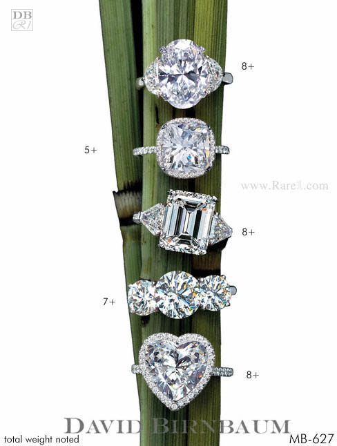 Rare White Diamond Rings