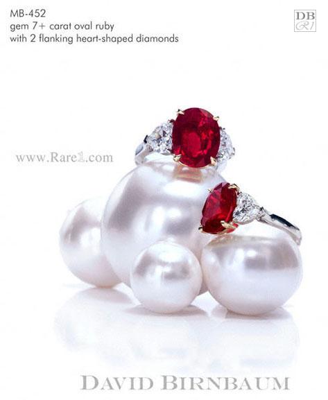 Gem Vivid Red Ruby Ring
