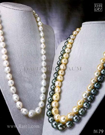 Opera Length Baroque Pearl Necklace