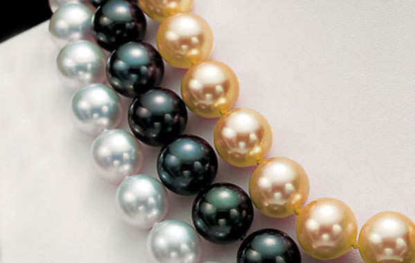 SOUTH SEA NESTED Pearl Necklaces
