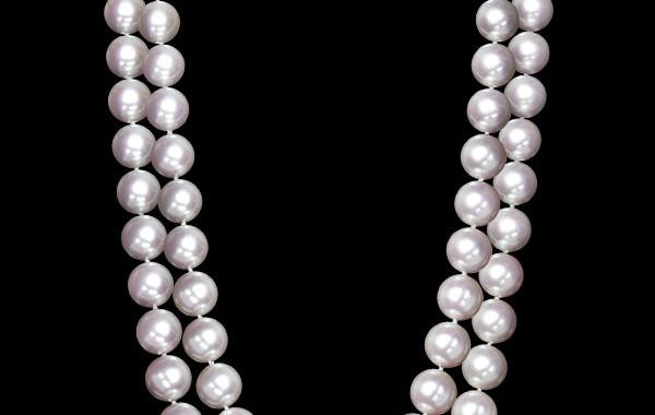 WORLD CLASS SET – Pearl Necklace Ensemble