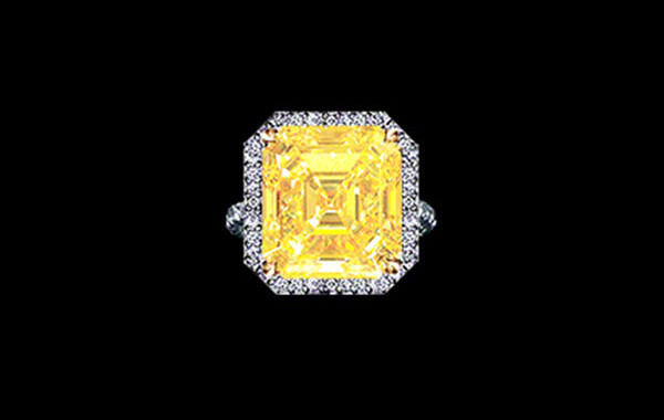 WORLD CLASS CANARY DIAMOND RING