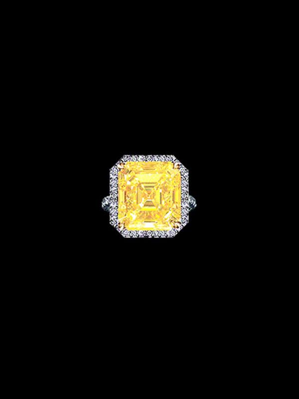 WORLD CLASS CANARY DIAMOND RING