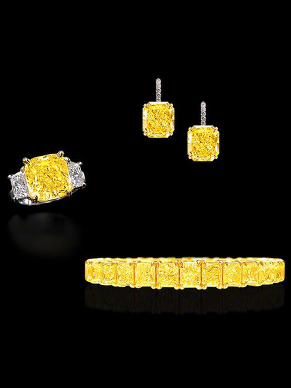 Fancy Intense Yellow Diamonds