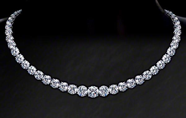 Diamond Riviera Necklace