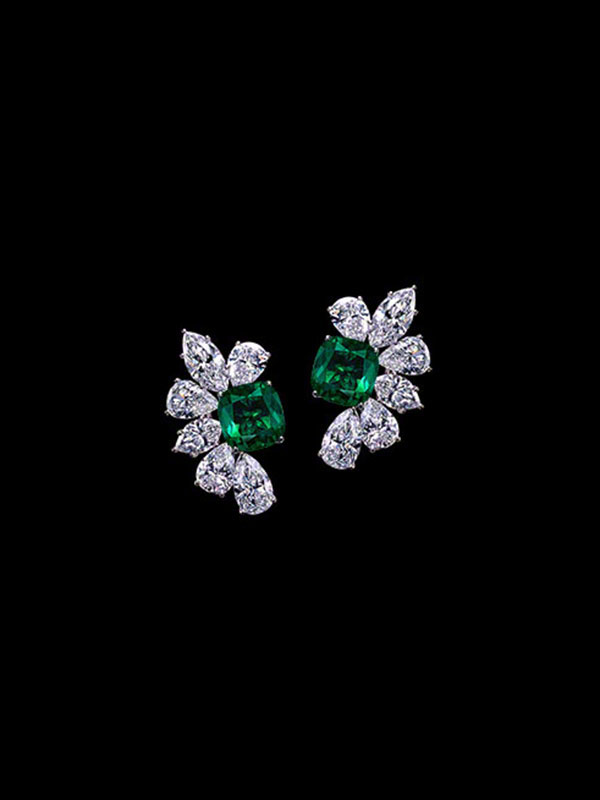 Gem Colombian Emerald Earrings