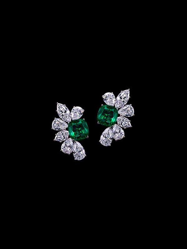 Gem Colombian Emerald Earrings