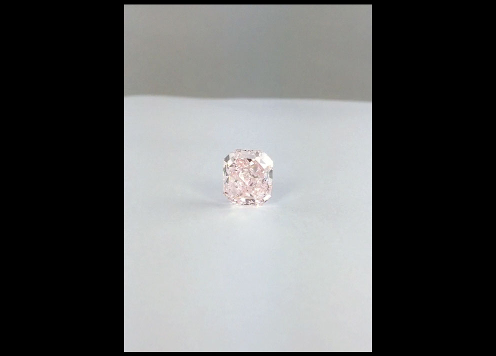 Fancy Colored Diamond,  4+ carats Fancy Pink