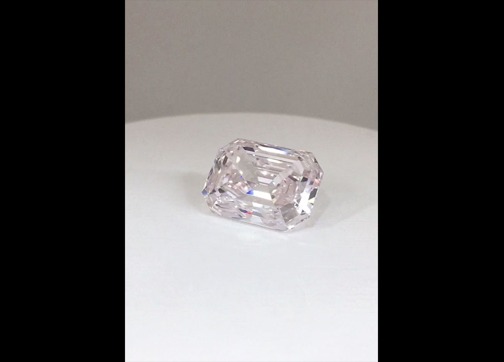 Fancy Colored Diamond,  15+ carats Light Pink Diamond