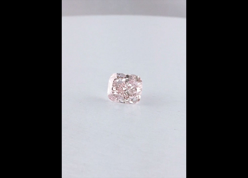 Fancy Colored Diamonds, 5+ carats Fancy Orangy Pink