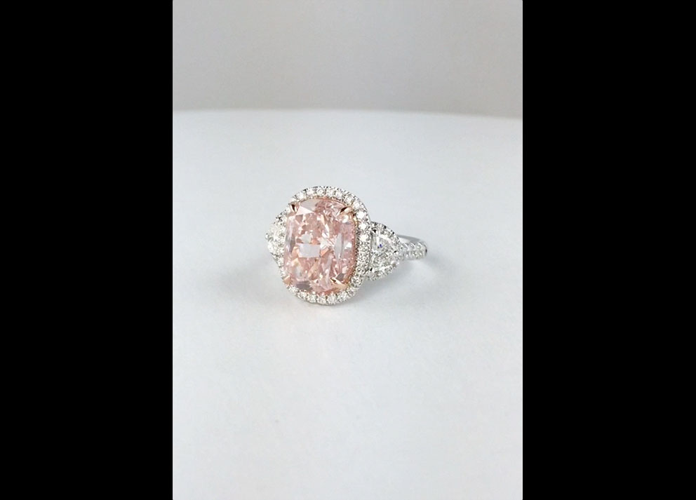 Fancy Colored Diamond, 6+ carats Fancy Pink