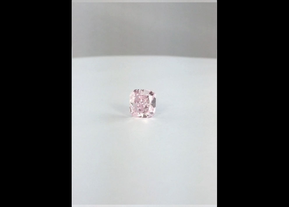 Fancy Colored Diamonds, 5+ carats Fancy Orangy Pink Diamond