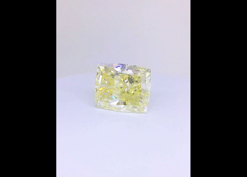Fancy Colored Diamond, 34+ carats Fancy Intensde Yellow Diamond