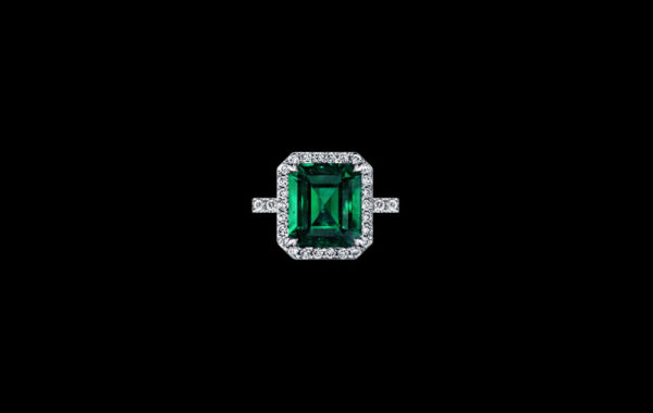 Fine Colombian Emerald Ring