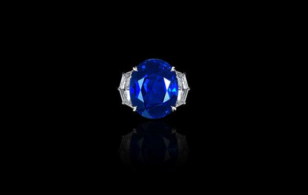 Gem Burma Sapphire Ring