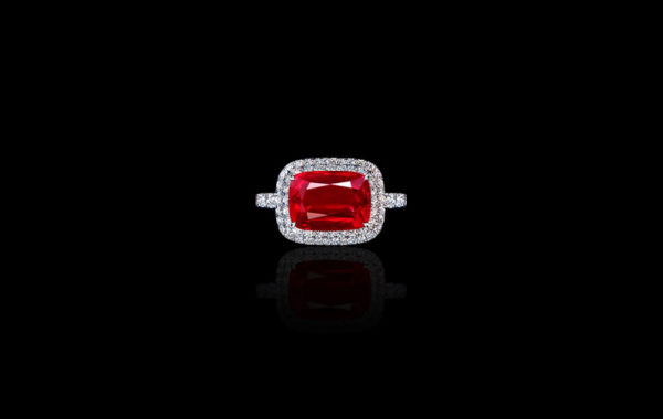Gem Mozambique Ruby Ring