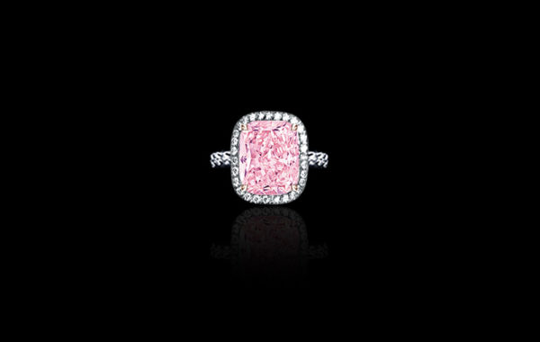 Natural Fancy Orangy Pink Diamond
