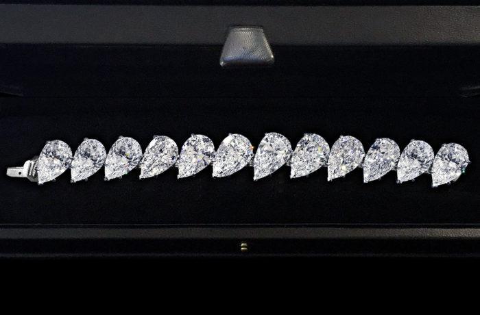 D Color Diamond Bracelet