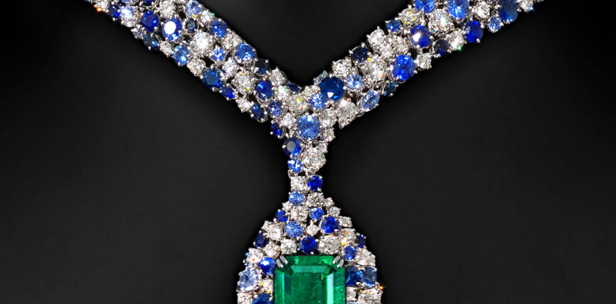 """Eternity+"" Designer Emerald Necklace"