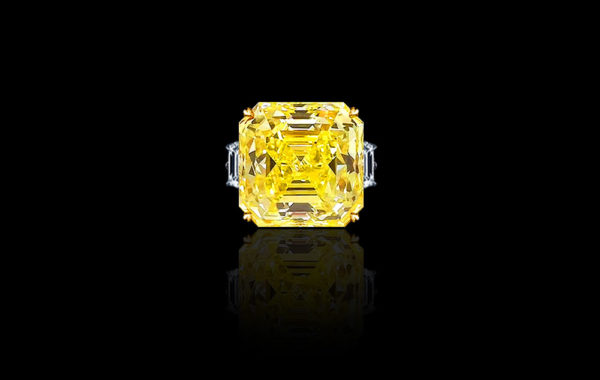 Natural Fancy Intense Yellow Diamond