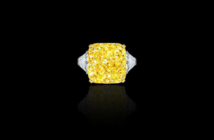 Natural Fancy Vivid Yellow Diamond