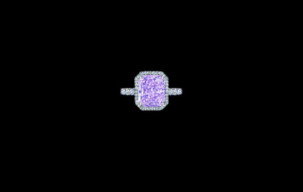 Natural Fancy Purple Diamond