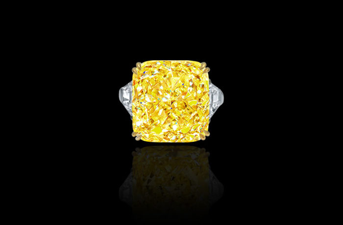 Natural Fancy Vivid Yellow Diamond
