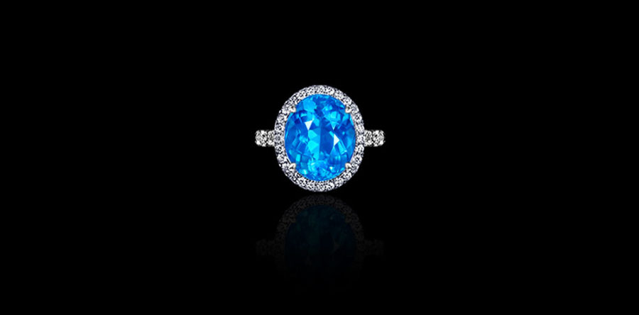 Gem Paraiba Tourmaline Ring
