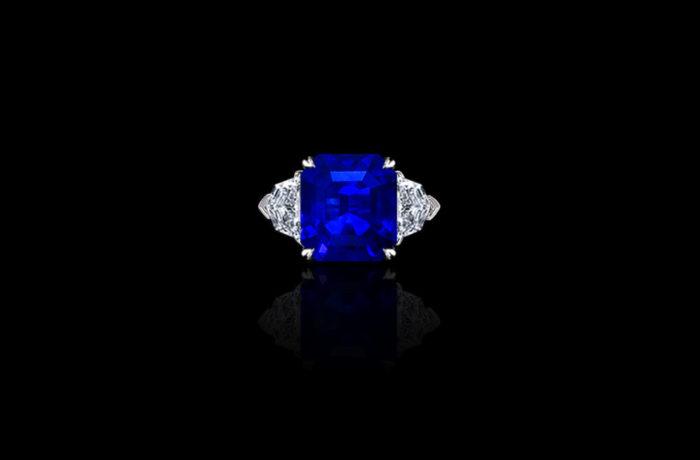 Gem Blue Sapphire Ring