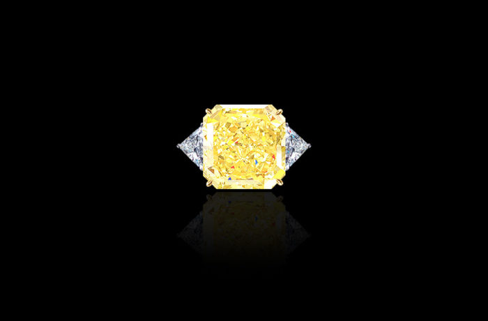 Natural Fancy Yellow Diamond