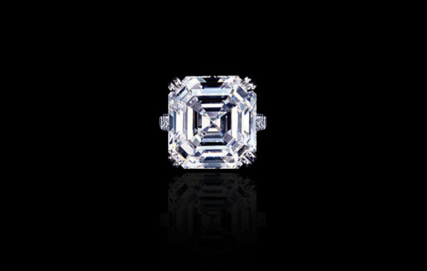 Asscher-cut Diamond Ring