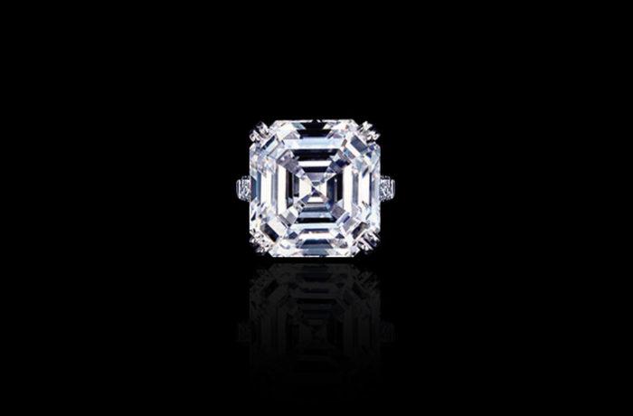 Asscher-cut Diamond Ring