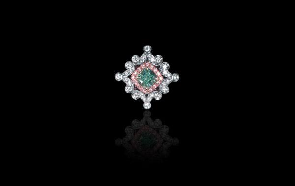 Natural Fancy Light Bluish Green Diamond