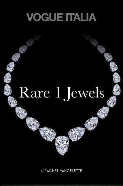 Vogue Italia Article, David Birnbaum / Rare 1: A Realm of Fashion Perfection in Gemstone Jewelry